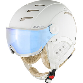 Alpina Jump 2.0 VM Ski Helmet white-prosecco matt